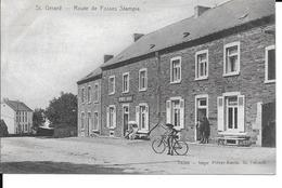 St. Gerard - Route De Fosses Stampia - Imprimerie-Librairie - 14769, Imp: Pièret-Ancia - Circulé: 1908 - Voir 2 Scans. - Mettet
