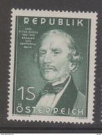 """Österreich 1952 """"Ing.Ritter V.Ghega"""" Postfrisch (siehe Foto/Scan) - 1945-.... 2. Republik"""