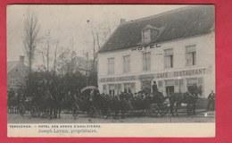 Tervueren - Hôtel Des Armes D'Angleterre - Prop: Joseph Letier ... Nombreux Attelages - 1926 ( Voir Verso ) - Tervuren