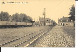 Ichtegem - Ichteghem - Tramstatie - TRAM - Oogst 1931 - Uitg: Wwe. V. Knockaert - Voir 2 Scans. - Ichtegem