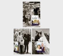 Liechtenstein 2017 Maxi Cards - Golden Wedding Of Prince Hans-Adam II And Princess Marie Of Liechtenstein - Liechtenstein