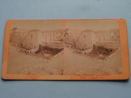 RUINES De L'ANCIENNE EGLISE ST. JEAN A Sébaste - J.A. ( 2826 ) Stereo Photo ( Voir Photo Pour Detail ) ! - Photos Stéréoscopiques