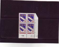 N° 1353 - 0,10F Blason De TROYES - A De A+B - 1° Tirage Du 2.11.62 Au 8.2.63 - 5.2.1963 - - 1960-1969