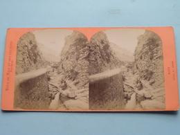 NICE Gorge ST. ANDRE ( Vues De Nice Et Des Environs Lucchesi ) Stereo Photo ( Voir Photo Pour Detail ) ! - Photos Stéréoscopiques