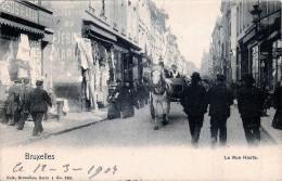 Nels Série 1 N° 363 - Bruxelles - La Rue Haute - Bruxelles (Città)