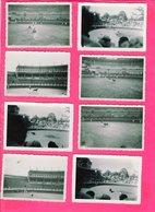 9 Photos 8,5 X 6,5 Cm - Courses Landaises - Sports
