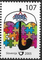 2005 Slowenien Mi. 570  ** MNH  Vorsitz Sloweniens In Der Organisation Für Sicherheit Und Zusammenarbeit In Europa (OSZE - Europäischer Gedanke