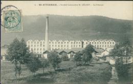 88 SAINT ETIENNE LES REMIREMONT / Société Cotonnière H Géliot /  La Filature - Saint Etienne De Remiremont