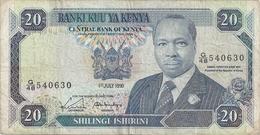 Kenya 20 Shillings 1990 - Kenya