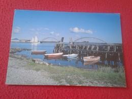 POSTAL POST CARD POSTCARD CARTE POSTALE DINAMARCA DENMARK DANMARK LOGSTOR THE BRIDGE ACROSS AGGERSUND VER FOTO/S Y DESCR - Dinamarca