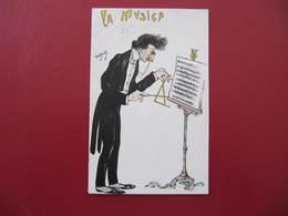 CPA - Illustrateur : VANDOCK - LA MUSICA - Zonder Classificatie