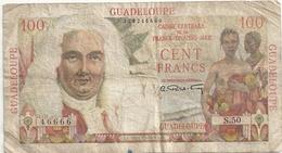 Guadeloupe 100 Francs La Bourdonnais France Colonies - France