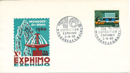 Luxembourg Cover EXPHIMO 2-6-1968 With Nice Cachet - Luxembourg
