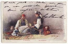 Greece Greek Patriots, Illustration Art WWI Era 1910s Vintage Postcard - Greece