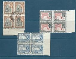 Guyane Britanique N°189,  191, 192 Oblitérés  En Bloc De 4 - Pa16201 - Guyane Britannique (...-1966)
