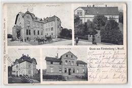 39124616 - Fuerstenberg In Westfalen Mit Oberfoersterei Und Glemens Hospital Gelaufen. Leichte Abschuerfungen, Leichter - Deutschland