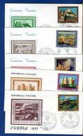 ITALIA - FDC - 1977 - EUROPA - TURISTICA - 6. 1946-.. Repubblica