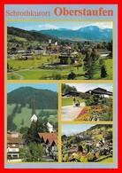 CPSM/gf  OBERSTAUFEN (Allemagne)  Schrothkurort Oberstaufen, Multivues...G217 - Oberstaufen