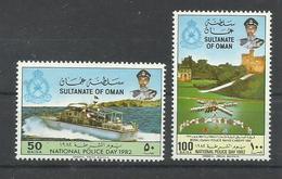 OMAN  YVERT  208/9   MNH  ** - Oman