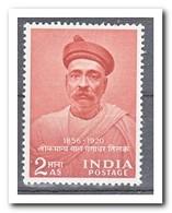India 1956, Postfris MNH, Bal Cangadkar - 1950-59 Republiek