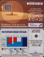 F209-540 TELECARTE 50 U TARIF 12H30 PUCE SC4an 5 IMPACT  91/12 N° 33558   COTE 30€ - France
