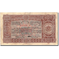 Billet, Bulgarie, 1000 Leva, 1943, 1943, KM:67L, TTB - Bulgaria