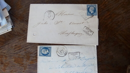 27.04.18_ Lot De .LSC  Avec N°14,a Voir!! - Postmark Collection (Covers)