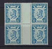 """FR YT 209 Bloc De 4 """" Pierre De Ronsard """" 1924 Neuf** - France"""