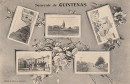 Ardéche : QUINTENAS : Souvenir De Quintenas  Multivues - France
