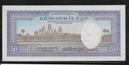 Cambodge - 50 Riels - Pick N°7 - NEUF - Cambodja