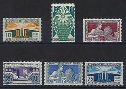 """FR YT 210 à 215 """" Exposition Des Arts Décoratifs """" 1924-25 Neuf** - France"""