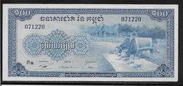 Cambodge - 100 Riels - Pick N°13b - NEUF - Cambodge