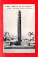 Paris : Exposition Des Arts Décoratifs En 1925 . Fontaine René Lalique, Cpa - Tentoonstellingen