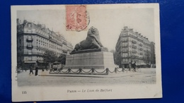PARIS LE LION DE BELFORT - France