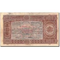 Billet, Bulgarie, 1000 Leva, 1943, 1943, KM:67L, TB - Bulgaria