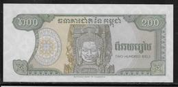 Cambodge - 200 Riels - Pick N°37 - NEUF - Cambodge