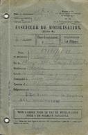 FASCICULE DE MOBILISATION - INDRE 36 - LE BLANC - 1926 - 9e REGION SUBDIVISION LE BLANC - Documents