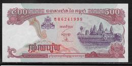 Cambodge - 500 Riels - Pick N°43 - NEUF - Cambodge