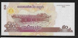 Cambodge - 50 Riels - Pick N°52 - NEUF - Cambodge