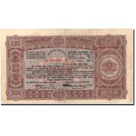 Billet, Bulgarie, 1000 Leva, 1943, 1943, KM:67L, TB+ - Bulgarie