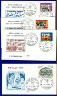 ITALIA - FDC - 1980 - NATALE - GIORNATA DEL FRANCOBOLLO - 6. 1946-.. Repubblica