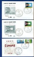 ITALIA - FDC - 1979 - EUROPA - PARLAMENTO EUROPEO - 6. 1946-.. Repubblica
