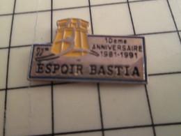 Pin910e Pin's Pins / Beau Et Rare : SPORTS : GYMNASTIQUE CORSE ESPOIR BASTIA CLUB 10e ANNIVERSAIRE - Gymnastics