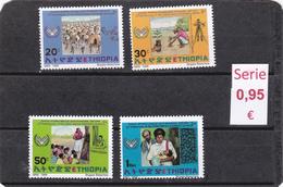 Etiopía  -  Serie Completa Nueva**  -  4/4240 - Etiopía