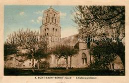 13016959 Pont-Saint-Esprit Eglise Paroissiale Pont-Saint-Esprit - Pont-Saint-Esprit