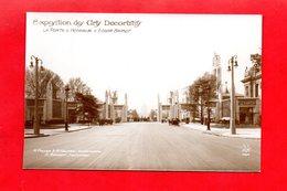 Paris : Exposition Des Arts Décoratifs En 1925 . Porte D'Honneur D'Edgar Brandt,  Cpa - Tentoonstellingen