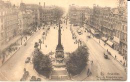 Bruxelles - CPA - Brussel - Place De Brouckère - Marktpleinen, Pleinen