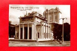 Paris : Exposition Des Arts Décoratifs En 1925 . Pavillon De La Belgique, Cpa - Tentoonstellingen