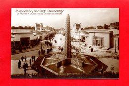 Paris : Exposition Des Arts Décoratifs En 1925 . La Fontaine René Lalique, Cpa Animée - Tentoonstellingen