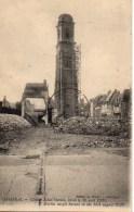 59 CAMBRAI Clocher Saint-Martin Brulé Le 15 Aôut 1920 - Cambrai
